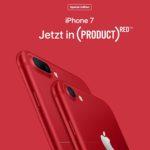 apple ios 10.3 red iphone 7